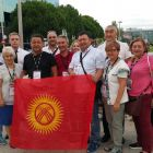 Kyrgyz dental delegation on Spanish soil